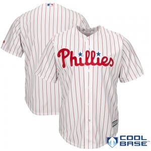 Majestic MLB Philadelphia Phillies Majestic White Home Cool Base Jersey