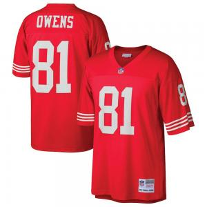 Mitchell & Ness NFL San Francisco 49ers Terrell Owens 2002 Legacy Jersey