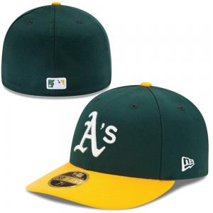 New Era MLB Oakland Athletics Authentic Low Profile 59FIFTY