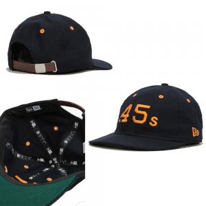 "New Era MLB Houston Colts "".45s"" Low Profile Strapback 9Fifty"