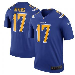 Nike NFL Los Angeles Chargers Color Rush Legend Philip Rivers Jersey