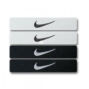 Nike Home & Away Dri-Fit Bands Black-White 2 Pairs