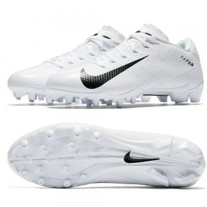 Nike Chaussures de Football Americain Vapor Untouchable Speed 3 TD Blanches