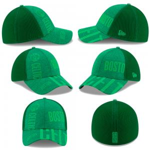 New Era NBA Boston Celtics Green TIPOFF Series 39thirty caps