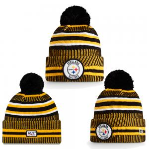 New Era NFL Pittsburgh Steelers Onfield 2019 Sport Knit