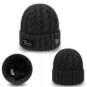 New Era New Era Branded Ribbed Cuf XYL Charcoal