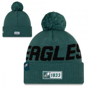 New Era NFL Philadelphia Eagles Onfield 2019 Sport Knit Road