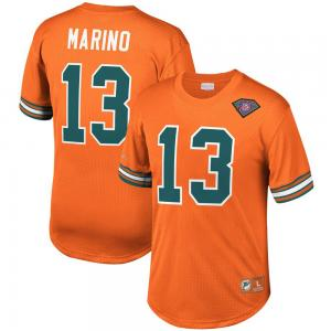 Mitchell & Ness NFL Miami Dolphins Dan Marino Name&Number mesh Crew Neck