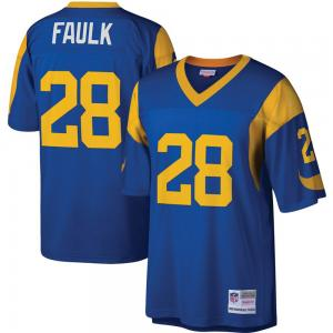 Mitchell & Ness NFL St Louis Rams Marshal Faulk Legacy Jersey