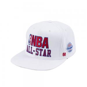 Mitchell & Ness NBA Logo Snapback All-Star East Cap Color White