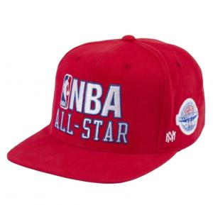 Mitchell & Ness NBA Logo Snapback All-Star East Red Cap