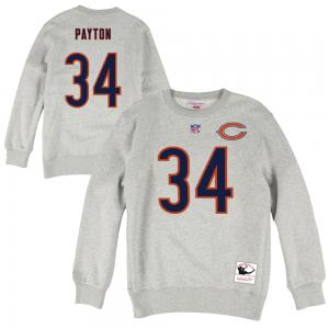 Mitchell & Ness NFL Chicago Bears Walter Payton 34 Name & Number Fleece Crew