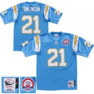 Mitchell & Ness Maillot De Football Américain NFL San Diego Chargers Tomlinson Collection Authentique 2009