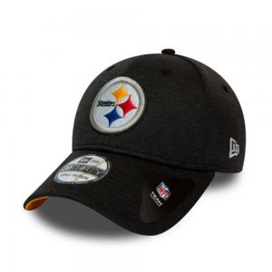 New Era Casquette de Football Américain NFL des Steelers de Pittsburgh Série Shadow Tech Modèle 39Thirty