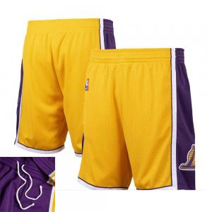 Mitchell & Ness Short de Basketball NBA Los Angeles Lakers Swingman