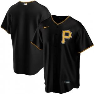 Nike Chemise de baseball MLB Pittsburgh Pirates modèle  Alternate 2020 Replica noir