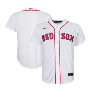 Nike MLB Boston Red Sox White Home 2020 Replica Baseball Jersey