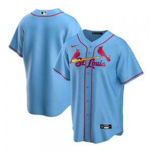 Nike Chemise de Baseball MLB St.Louis Cardinals modèle Alternate 2020 Replica Light-blue
