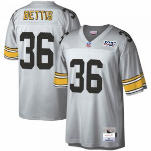 Mitchell & Ness NFL Pittsburgh Steelers Jerome Bettis  Platinum 100 Retired Player Legacy Jersey