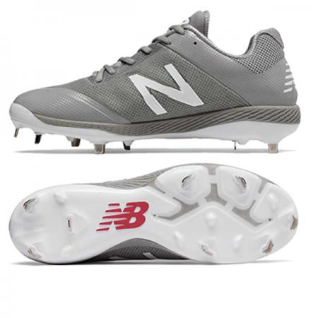 New Balance/Low-Cut 4040v4 Metal Cleat Grey