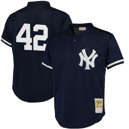 Mitchell & Ness/MLB New York Yankees Mariano Rivera 1995 Authentic Mesh BP Jersey
