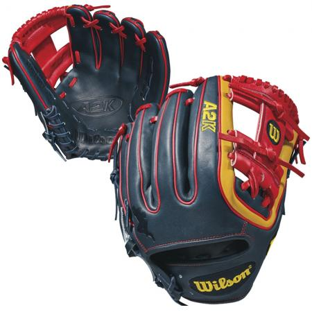 Wilson/A2K DATDUDE Brandon Phillips Game Model 11.5 Infield  (Worn on the LEFT)