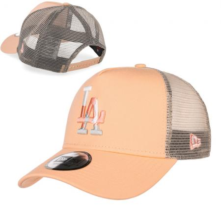 New Era/MLB Los Angeles Dodgers Camo Infill Peach Trucker