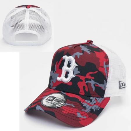New Era/MLB Boston Red Sox Camo Trucker cap