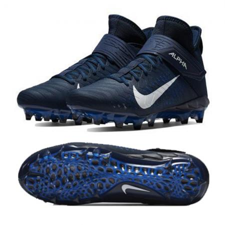Nike/Alpha Menace Pro 2 Mid Navy (AQ3209) American Football Shoes