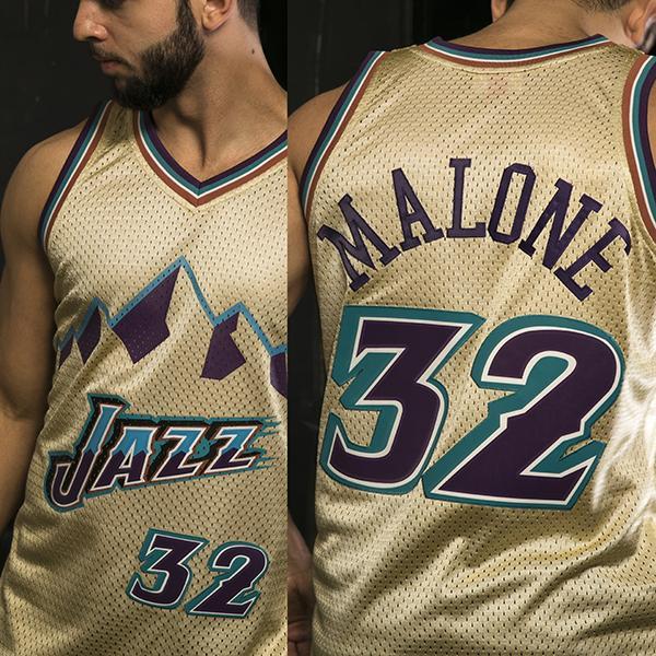 brand new 79a7b 0340e Mitchell & Ness - Swingman jersey - Utah Jazz - Karl Marlone #32