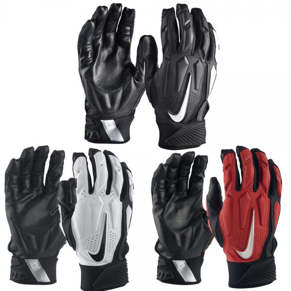 new concept 46b5c f8779 The Nike D-Tack 6.0 Football Gloves feature strategic padding and grippy  palms for confident ball handling in all conditions.