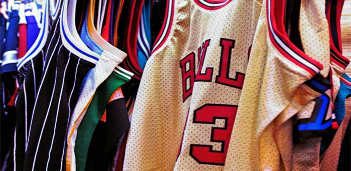 Historical Jersey of the NBA