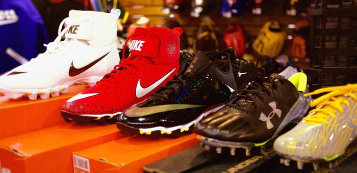 Des Chaussures Pro Fooball , Baseball